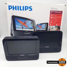 Philips Philips PD7022/12 Draagbare DVD-speler - In Goede Staat