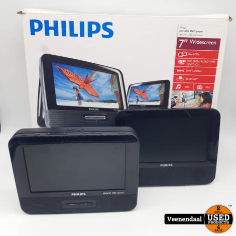 Philips PD7022/12 Draagbare DVD-speler - In Goede Staat