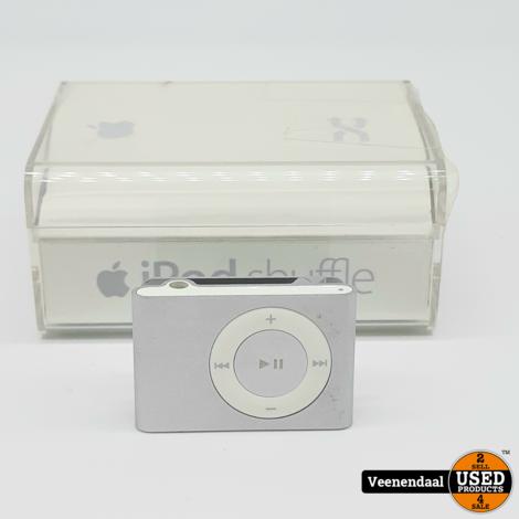 Apple iPod Shuffle 1GB Zilver - In Goede Staat