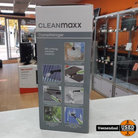 CLEANMAXX Stoomborstel 5-in-1 - Nieuw