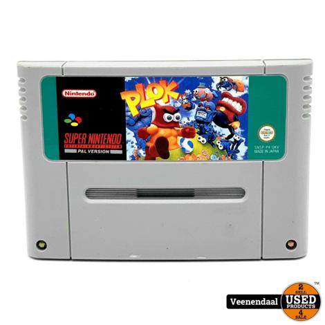 Plok - Super Nintendo
