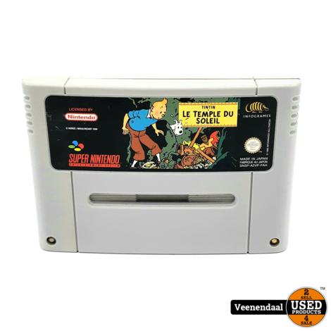TinTin Le Temple Du Soleil - Super Nintendo