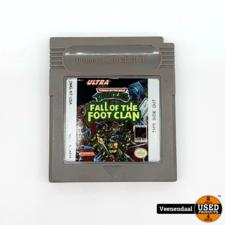 Nintendo Turtles Fall Of The Foot Clan - Nintendo Gameboy