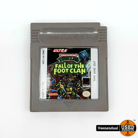 Turtles Fall Of The Foot Clan - Nintendo Gameboy
