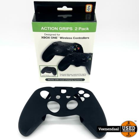Xbox One Action Grip 2 Pack Zwart - Nieuw In Doos