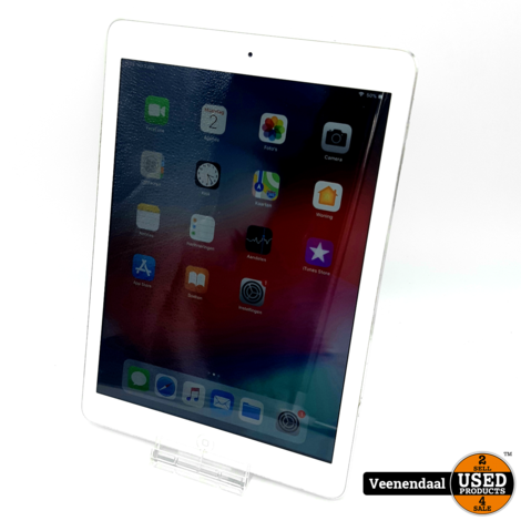 Apple iPad Air 16GB Silver - In Goede Staat