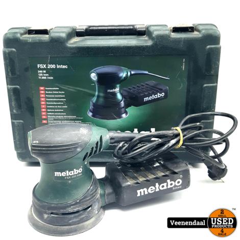 Metabo FSX 200 Intec - Schuurmachine - In Goede Staat