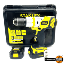 Stanley Stanley FMC520LB 14.4V Li-Ion Boormachine Set - In Goede Staat
