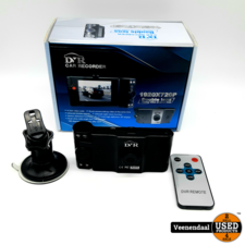DVR Dashcam DVR Car Recorder Double Lens - In Goede Staat