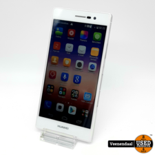 Huawai Huawei Ascend P7 16Gb Wit - In Goede Staat