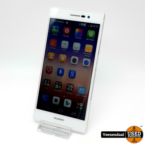 Huawei Ascend P7 16Gb Wit - In Goede Staat