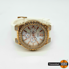 Guess Guess W16577L1 Dames Horloge - In Goede Staat