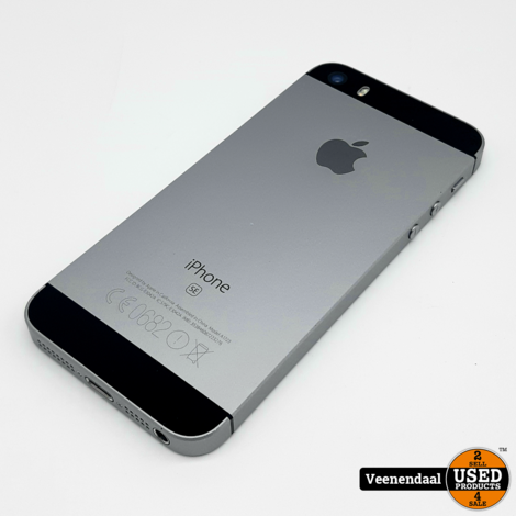 Apple iPhone SE 16GB Space Gray - Accu 80% - In Goede Staat