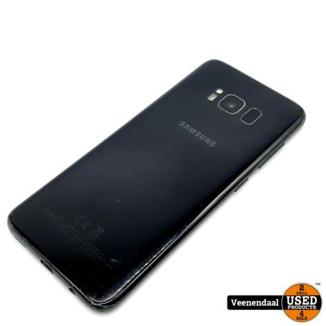 Samsung Galaxy S8 64GB Zwart - In Gebruikte Staat