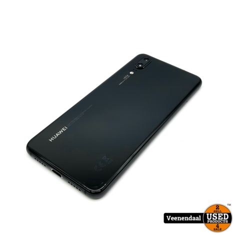Huawei P20 128GB Dual-Sim Zwart - In Nette Staat