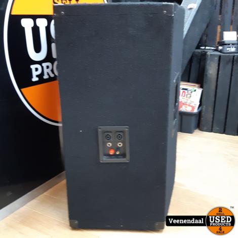 Devine 2 Speakers 750 Watt Zwart - In Goede Staat