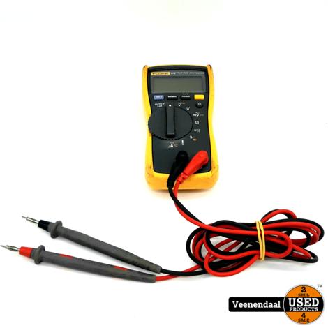 Fluke 116 Multimeter Digitaal CAT III 600 V - In Goede Staat