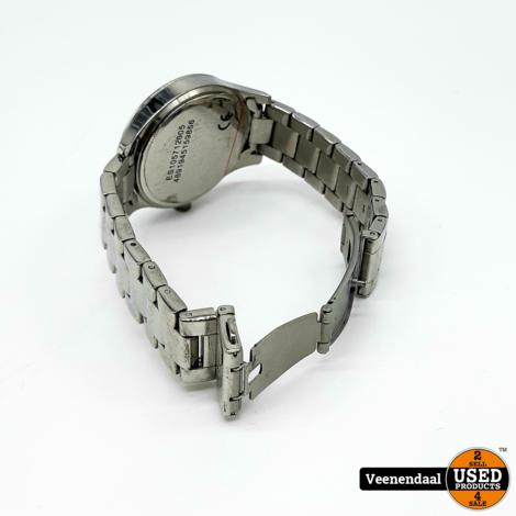 Esprit 805-ALL Zilver Horloge - In Goede Staat