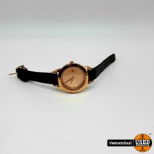 Esprit Esprit 805-ALL Rose Gold Dames Horloge - In Goede Staat
