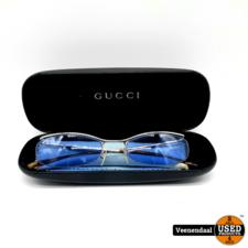 Gucci Gucci zonnebril - Blauwe Glazen - In Goede Staat
