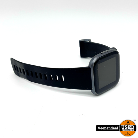 Fitbit Versa 2 Smartwatch Zwart - In Goede Staat