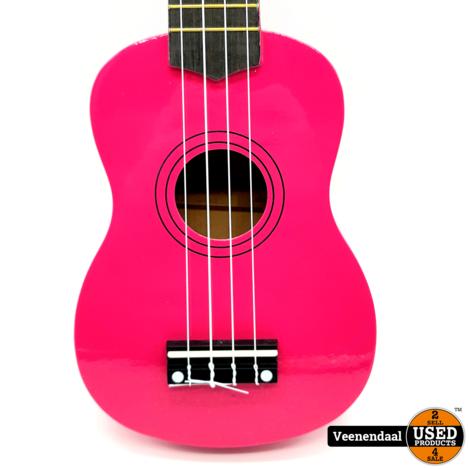 Calimex Ukelele Roze - Nieuw!