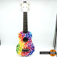 Calimex Calimex Ukelele Rainbow Drips - Nieuw!