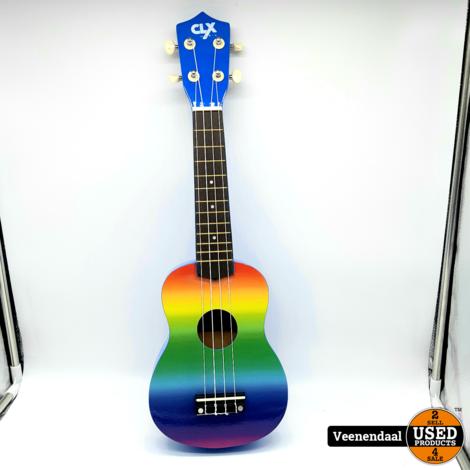 Calimex Ukelele Rainbow Air - Nieuw!
