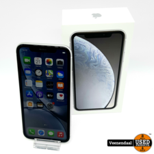 Apple Apple iPhone XR 64 GB Wit - Accu: 90% - In Goede Staat