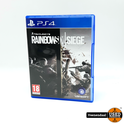 Tom Clancy's Rainbow Six - PS4 Game