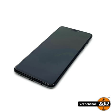 One Plus 6 A6003 Mirror Black 64GB - In Goede Staat