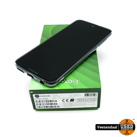 Motorola Moto G7 64Gb Zwart - In Goede Staat