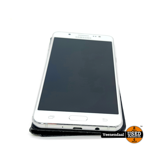 Samsung Galaxy J5 2016 16GB Wit - In Goede Staat