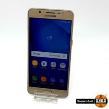 Samsung Samsung Galaxy J5 2016 16GB Goud - In Goede Staat