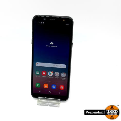 Samsung Galaxy A6 2018 32GB Zwart - In Goede Staat