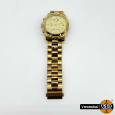 Michael Kors Michael Kors MK5683B Dames Horloge Goud - In Goede Staat