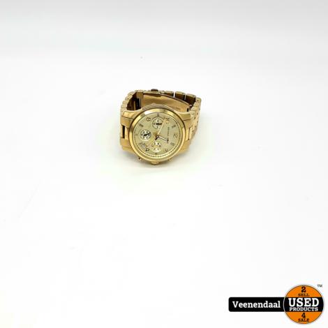 Michael Kors MK5683B Dames Horloge Goud - In Goede Staat