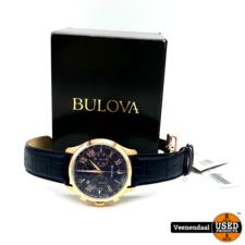 Bulova Bulova 97B170 Heren Horloge Blauw - Nieuw In Doos