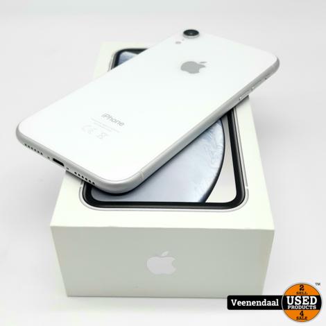 DAGDEAL Apple iPhone XR 64GB Wit - In Goede Staat