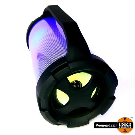 MYON MW199B Bluetooth Speaker LED - In Goede Staat