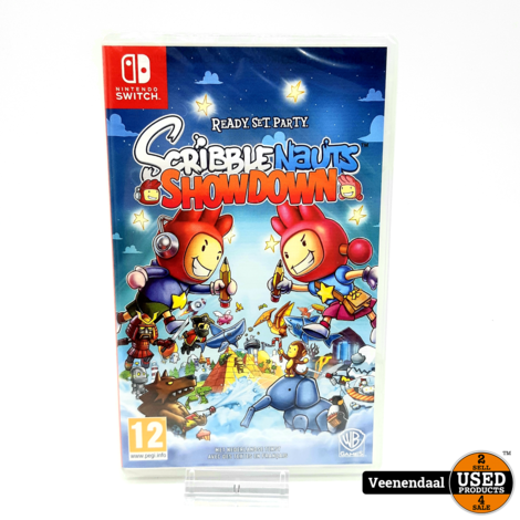 Scribblenauts: Showdown - Nintendo Switch - Nieuw In Seal!