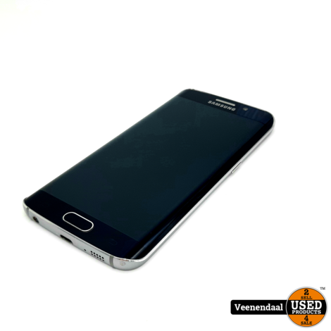 Samsung Galaxy S6 Edge 32GB Black Sapphire - In Goede Staat