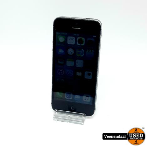 Apple iPhone 5 16GB Zwart - In Prima Staat