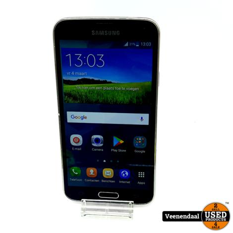 Samsung Galaxy S5 Blauw Grijs 4G+ 16GB - In Goede Staat