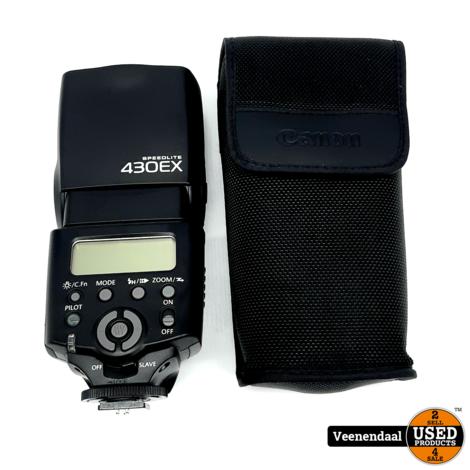 Canon Speedlight 430EX Compact Flitser - In Goede Staat