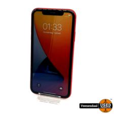 Apple WEG=WEG Apple iPhone 11 128GB Rood - Accu: 88% - In Goede Staat