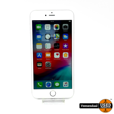 Apple iPhone 6 Plus 16GB Wit Accu: 94% - In Goede Staat