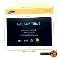 Samsung Samsung Galaxy Tab 3 16GB Wit 10.1 Inch - In Goede Staat