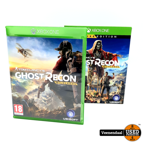 Ghost Recon Wildlands - Deluxe Edition - Xbox One Game