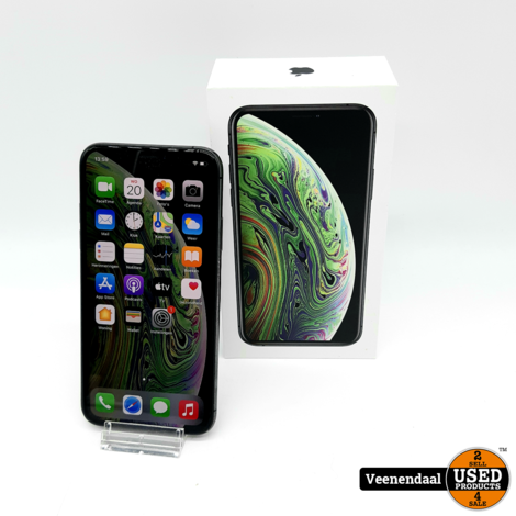 Apple iPhone XS 64GB Space Gray - In Goede Staat